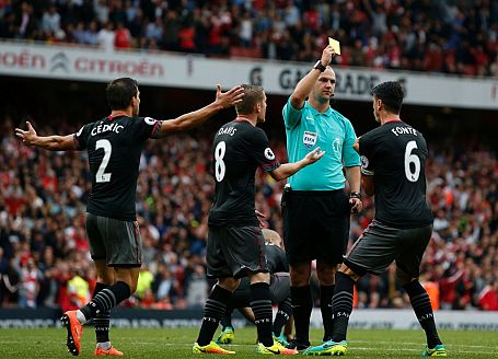 Southampton v Burnley:  A Yellow Card To Be Shown – 4/1 Coral