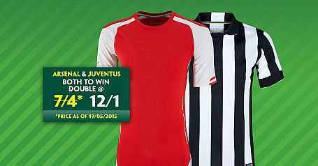 Arsenal & Juventus Double @ 12/1