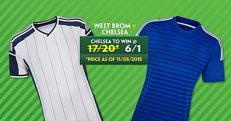 Chelsea 6/1 To Beat West Brom