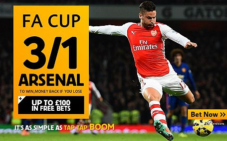 3/1 Arsenal to beat Reading - Betfair Sportsbook