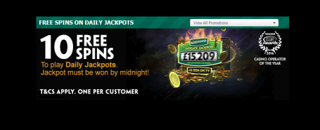 10 Free Spins with Paddy Power