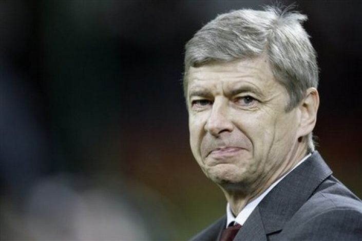 Wenger: relishing the challenge