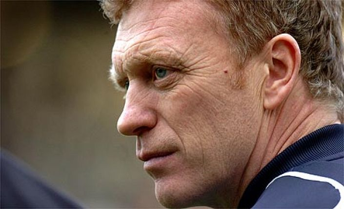 Moyes: Desperate to land a major trophy.